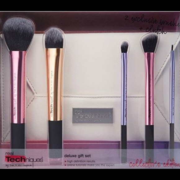 Real Techniques Other - Real techniques brush set